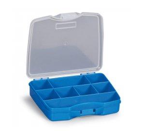 Poly 1/8 Εργαλειοθήκη ταμπακιέρα 165x140x35mm Μπλε