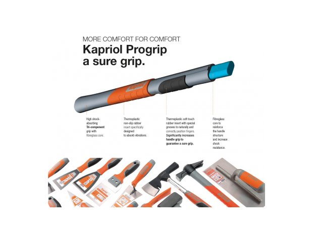 POP progrip τεχνολογία χερολαβής KAPRIOL