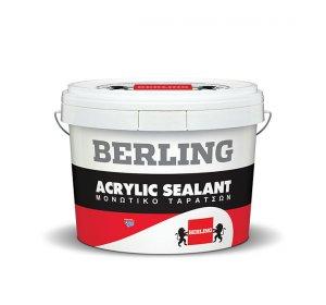 ACRYLIC SEALANT 0,75ml- Ελαστομερές για στεγανοποίηση ταρατσών