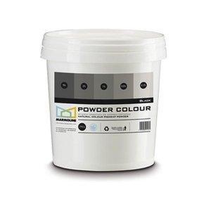 POWDER COLOUR Φυσική χρωστική για πατητή & σοβά. Black 250gr