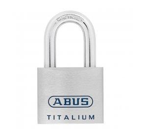 TITALIUM 80TI-45Β. Λουκέτο υψηλής ασφάλειας αλουμινίου