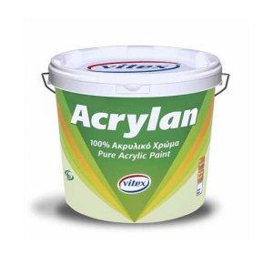 Acrylan 100% Λευκό 750ml-Ακρυλικό Χρώμα Υψηλής Ποιότητας