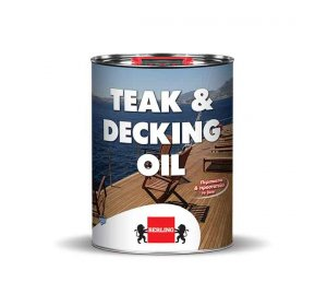 TEAK & DECKING OIL 4lt-Λάδι προστασίας ξύλινων επιφανειών