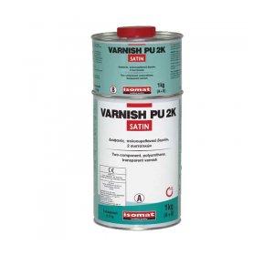 VARNISH-PU 2K Satin (A+B) 1kg Πολυουρεθανικό βερνίκι