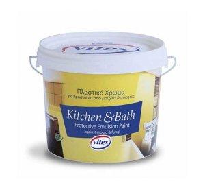 KITCHEN & BATH Λευκό 3lt- Αντιμουχλικό Χρώμα