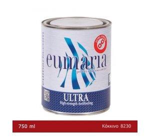 EUMARIA ULTRA RED 750ΜL-Αυτοκαθαριζόμενο Υφαλόχρωμα