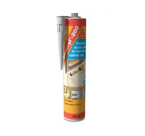 Sikacryl -200 Λευκό. 300ml Ακρυλικό σφραγιστικό