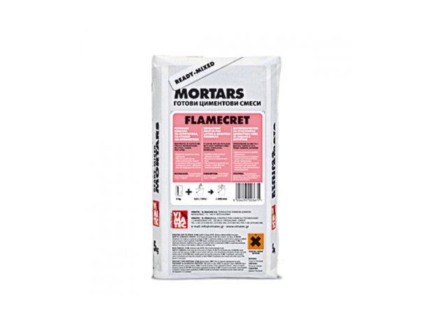 FLAMECRET 5kg-Πυρίμαχο κονίαμα για πυρότουβλα