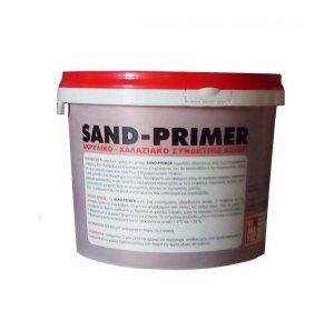 SAND-PRIMER 15kg-Ακρυλικό - χαλαζιακό αστάρι πρόσφυσης σοβάδων