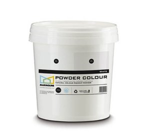 POWDER COLOUR Φυσική χρωστική  πατητής & σοβά. White 250gr