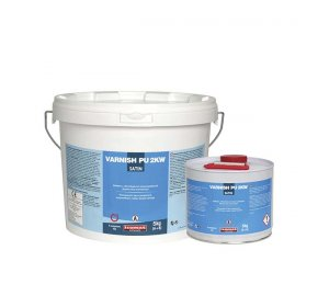 VARNISH-PU 2KW Υδατοδιαλυτό πολυουρεθανικό βερνίκι