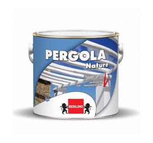 NATURE PERGOLA 2.5Lt -Ημιδιαφανές χρώμα εμποτισμού ξύλου