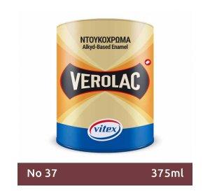 VEROLAC 375ml Ντουκόχρωμα. Χρώμα Νο 37
