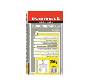 DUROCRET PLUS Grey 25kg fiber-reinforced, repairing cement mortar