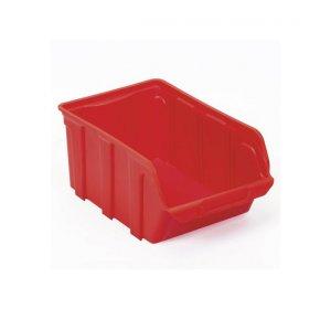 Tekni Κόκκινο Σκαφάκι πλαστικό, 14x23x12,5cm