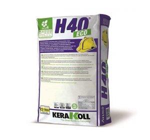 H40 Eco Rapid 25kg Λευκό. Κόλλα ταχείας πήξεως