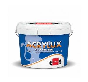 ACRYLUX Υπέρλευκο ακρυλικό χρώμα για εξωτερική χρήση