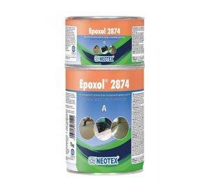 Epoxol 2874 (A+B) KIT 1kg Διάφανη εποξειδική ρητίνη