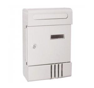 City I, Γραμματοκιβώτιο 205x65x290mm, Λευκό