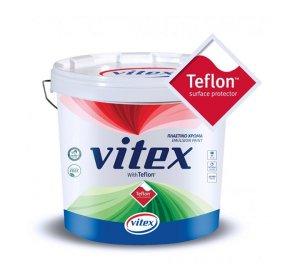 Teflon πλαστικό χρώμα που καθαρίζεται εύκολα και δεν αφήνει λεκέδες