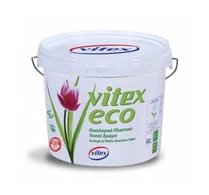 VITEX ECO Λευκό 3lt Οικολογικό Αντιμικροβιακό Πλαστικό Χρώμα