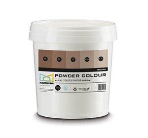 POWDER COLOUR Φυσική χρωστική πατητής & σοβά. Brown, καφέ 250gr