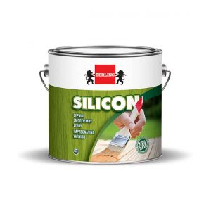 SILICON ΚΑΣΤΑΝΙΑ 0.750lt - Βερνίκι εμποτισμού ξύλου