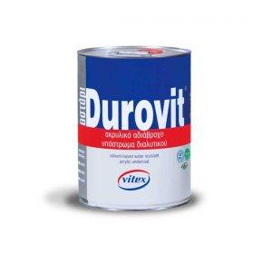 Durovit Ακρυλικό υπόστρωμα αδιαβροχοποίησης. Διάφανο 5L