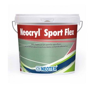 Neocryl Sport Flex 12kg Κεραμιδί Αντιολισθηρό Χρώμα Γηπέδων