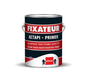 FIXATEUR Αστάρι 5lt- Ακρυλικό Υπόστρωμα Διαλύτου