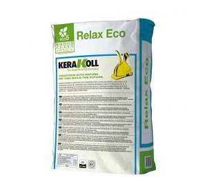 Relax Eco 25kg. Λευκή. Κόλλα πλακιδίων ενός συστατικού