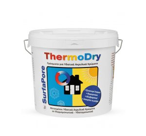 SurfaPore ThermoDry 10L Βελτιωτικό χρώματος, αδιαβροχοποίηση & θερμοπροστασια