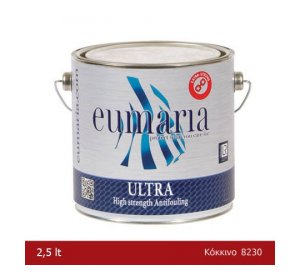 EUMARIA ULTRA OXIDE RED 2,5L-Αυτοκαθαριζόμενο Υφαλόχρωμα, κόκκινο
