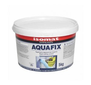 AQUAFIX 5kg Rapid-setting cement for instant sealing of water leaks