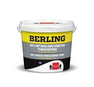 Ακρυλικό Επαγγελματικό 3L Γκρι No1194 100% ακρυλικό χρώμα