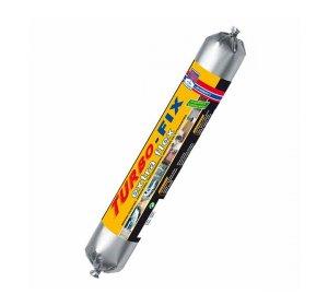 TURBO-FIX extra flex 600ml Γκρι Σφραγιστικό μόνιμα ελαστικό