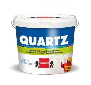 Quartz Ακρυλικό χαλαζιακό αστάρι πρόσφυσης σοβάδων.