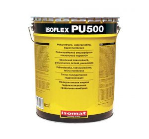 ISOFLEX PU 500 polyurethane, liquid waterproofing membrane