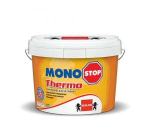 MONOSTOP THERMO 3lt Λευκό- Ελαστομερές, Ενεργειακό χρώμα