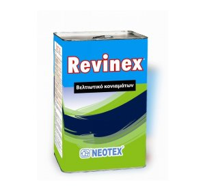 REVINEX 18kg-Συμπολυμερές γαλάκτωμα βελτίωσης κονιαμάτων &υγρών