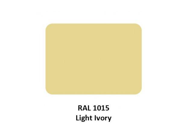 Χρωστική υγρή RAL 1015 Light Ivory, ανοιχτό ιβουάρ, κρεμ, μπεζ