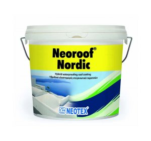Neoroof Nordic 4kg Υβριδικό στεγανωτικό ταρατσών κεραμιδί
