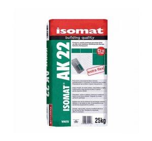 ISOMAT AK 22 Λευκή  25kg Εύκαμπτη,  ρητινούχα κόλλα πλακιδίων.jpg