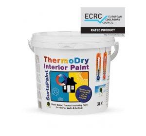 SurfaPaint ThermoDry Interior 3L θερμομονωτικό χρώμα