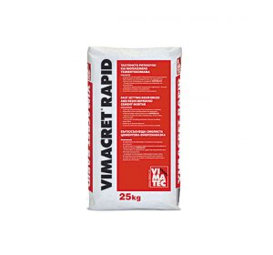 VIMACRET-RAPID 25kg-Ταχύπηκτο ινοπλισμένο τσιμεντοκονίαμα