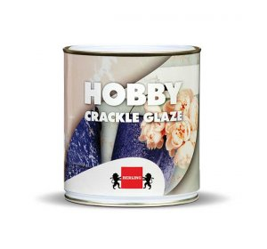HOBBY CRACKLE GLAZE 0,50L τεχνοτροπία κρακελέ