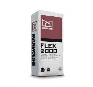 FLEX2000 25kg-Ελαστική Ενισχυμένη Ρητινούχα Κόλλα Πλακιδίων