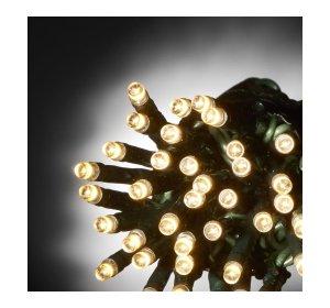 100 Λαμπάκια Γιρλάντα εξωτερικού χώρου 5m Θερμό φως