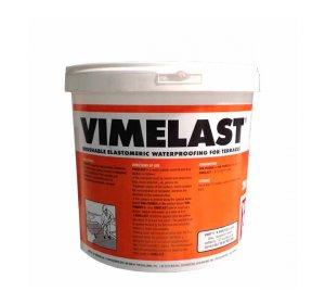 VIMELAST Κεραμιδί 5kg- Επαλειφόμενο στεγανωτικό ταρατσών