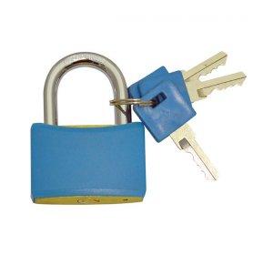 Λουκέτο ασφαλείας μπλε χρώματος